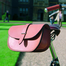 Pashley Leather Saddle Bag