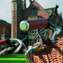Pashley Leather Grips
