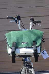 UPSO Ferrybridge Folder - For Brompton - Green/White