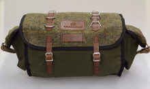 Carradice Barley Limited Edition Harris Tweed Green