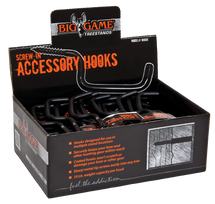 Screw-in Accessory Hooks - Pack of 50