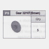 05-5350P5 Gear 32/10T (Brown)