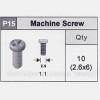 15-5350P15 Machine Screw (2.6x6)