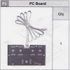 34-535WCBP3 PC Board (Wired Control Box)