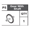 05-68300P5 Gear With Shaft