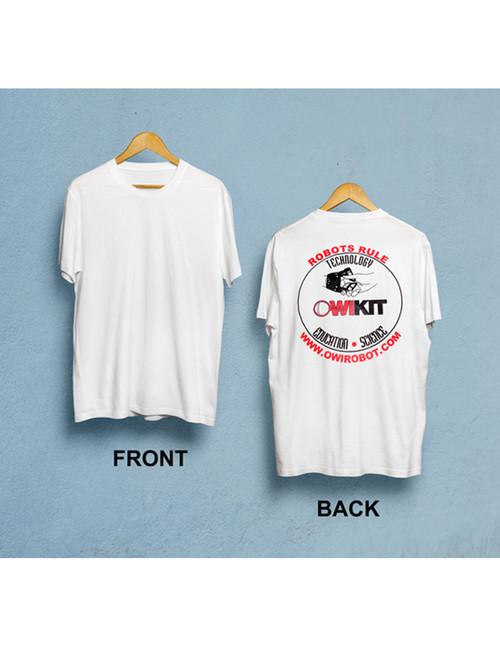 """Robots Rule"" T-Shirt"