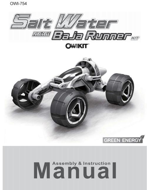 Salt Water Fuel Cell Baja Runner Manual