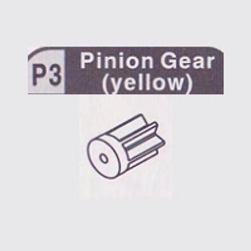 03-610003 (P3) PINION GEAR (YELLOW)