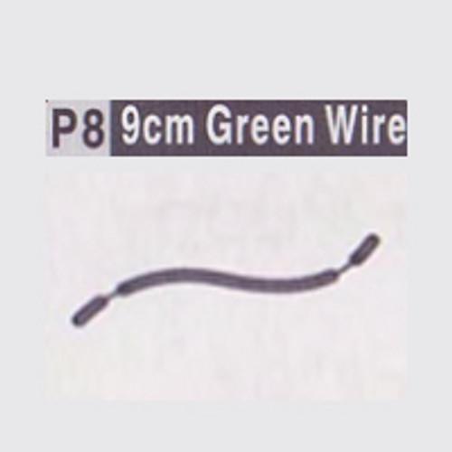 08-610008(P8) 9CM GREEN WIRE