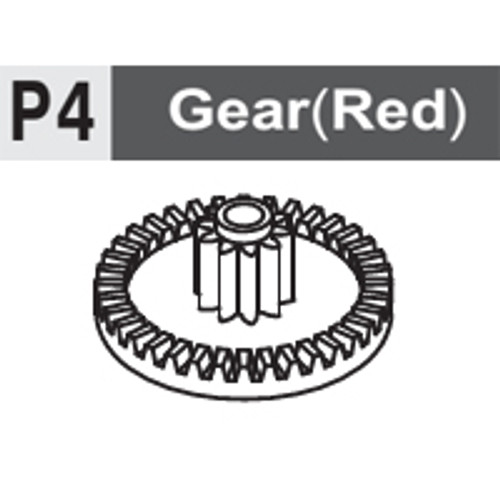 04-6130P4 GEAR (RED)