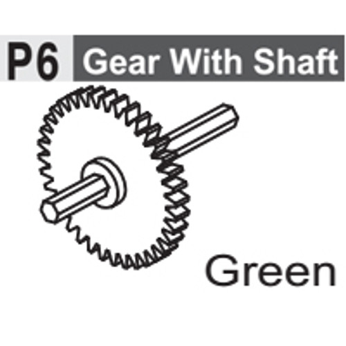06-6130P6 GEAR WITH SHAFT