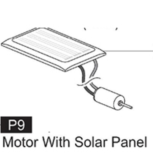 09-61700P9 Motor With Solar Panel