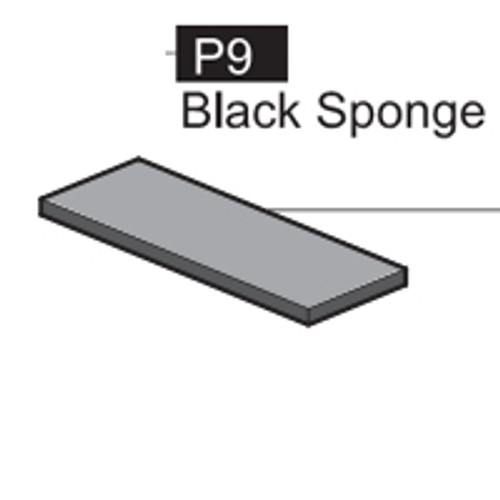 09- 6400P9 BLACK SPONGE