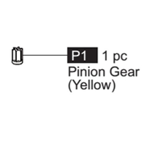 01-64100P1  Pinion Gear (Yellow)