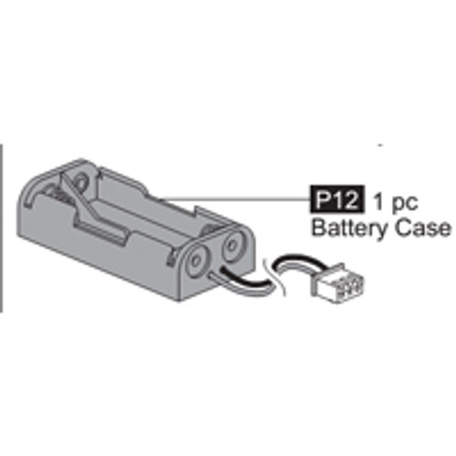 12- 64100P12  Battery Case