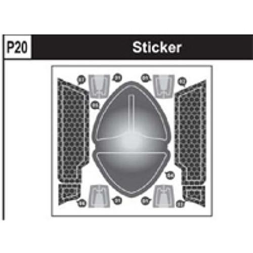 20-89200P20 Sticker
