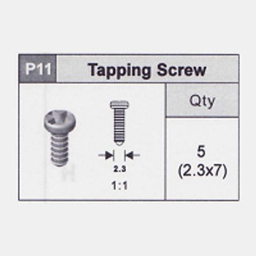 11-5350P11 Tapping Screw (2.3x7)