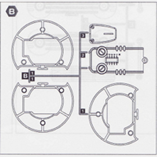 27-5350PPB Plastic Part B