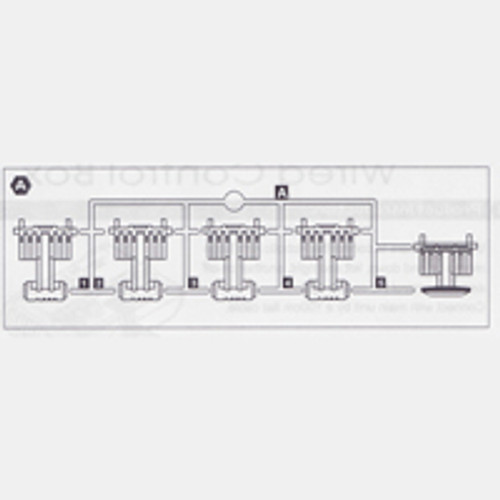 35-535WCBPPA Plastic Part A (Wired Control Box)