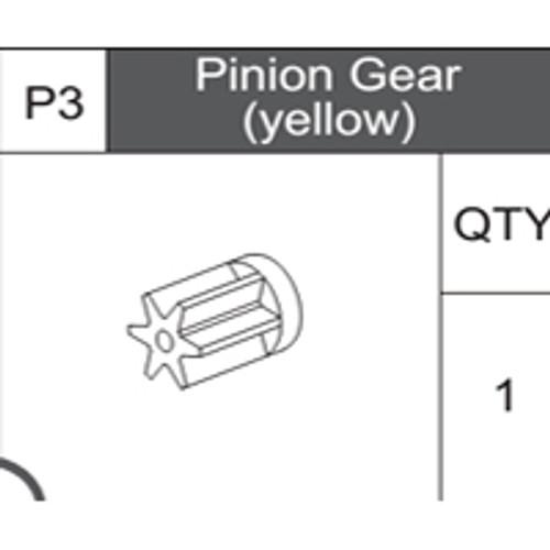 03-75300P3 Pinion Gear (Yellow)