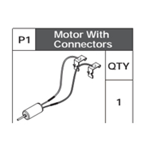 01-75200P1 Motor With Connectors