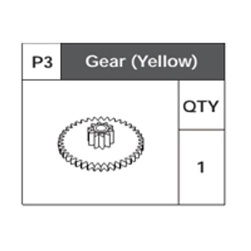 03-75200P3 Gear(Yellow)