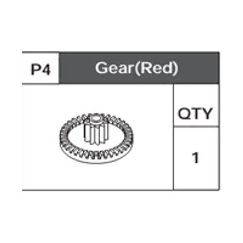04-75200P4 Gear(Red)
