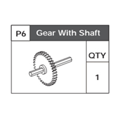 06-75200P6 Gear With Shaft