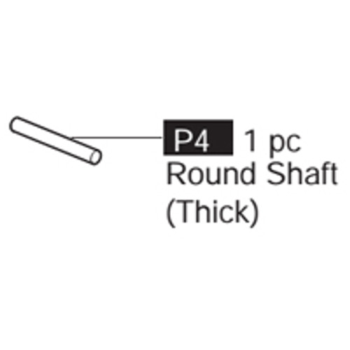 04-69100P4  Round Shaft (Thick)