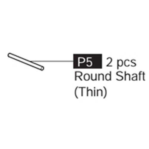 05-69100P5  Round Shaft (Thin)