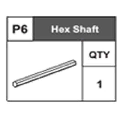 06-68400P6 Hex Shaft