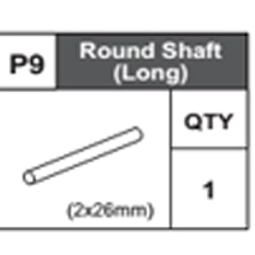 09-68400P9 Round Shaft (Long)