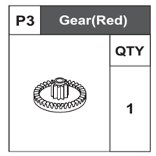 03-68200P3 Gear (Red)
