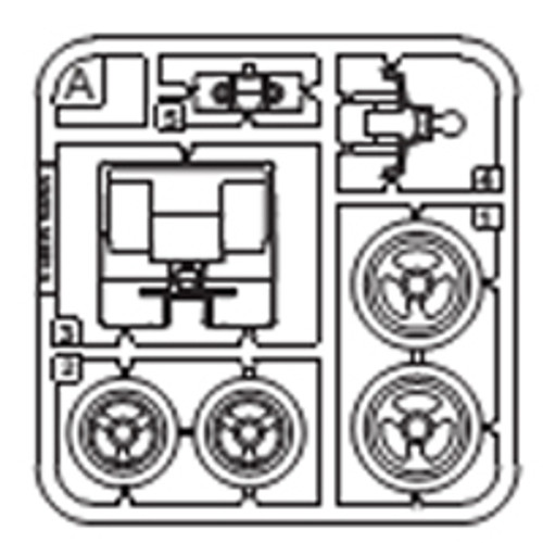 08-68100PPA Plastic Part A