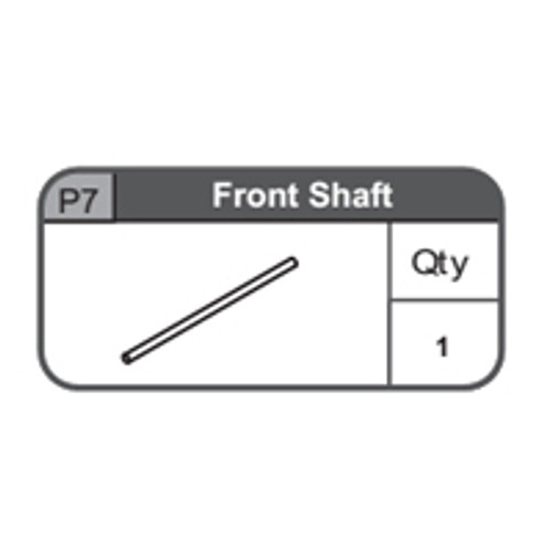 07-67400P7 Front Shaft