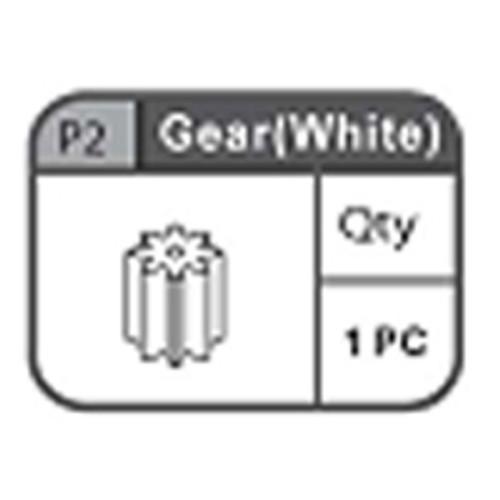 02-67200P2 Pinion Gear (White)