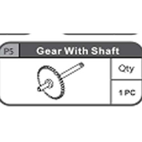 05-67200P5 Gear With Shaft