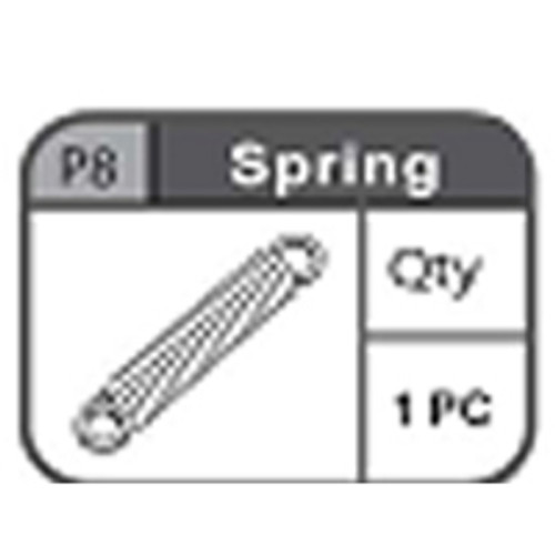 08-67200P8 Spring