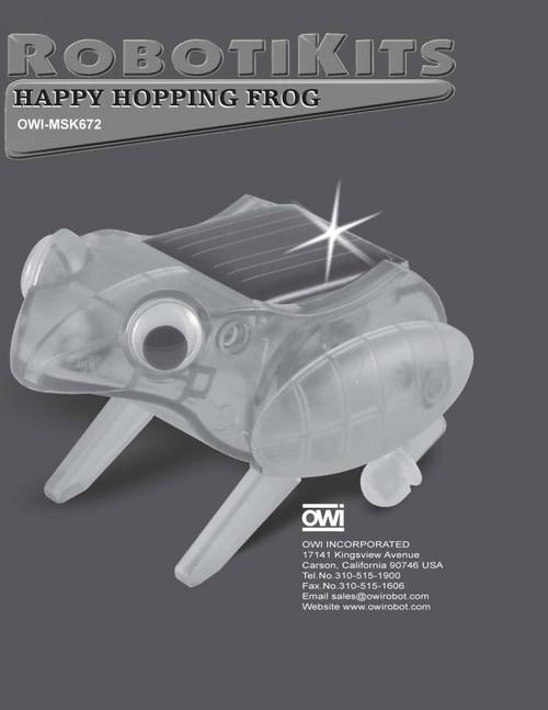 Happy Hopping Frog Manual