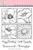 Flower Blocks 2 Clear Stamp Set