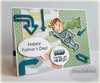 Super Dad Clear Stamp Set w/ FREE Die Set