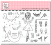 Summer Fun Winnie Clear Stamp Set