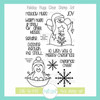Holiday Hugs Clear Stamp Set