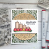 Poinsettias & Candles Clear Stamp Set