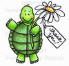 Thankful Tommy Turtle Colored Digital Stamp