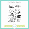 Woof You Clear Stamp Set