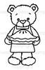 Rhubarb's Pie Digital Stamp