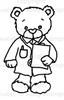 Doctor Rhubarb Digital Stamp