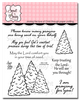 Comforting Pines Clear Stamp Set