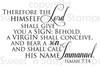 Immanuel Digital Stamp